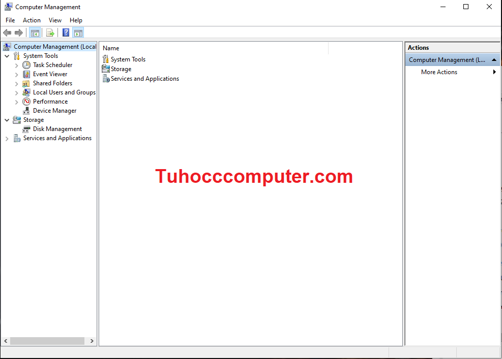 Read more about the article 12 Cách Mở Computer Management Trong Windows 10